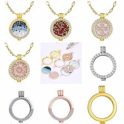 New My Coin Stainless Steel Locket Holder Fit For Necklace fit 35MM Coin Jewelry
