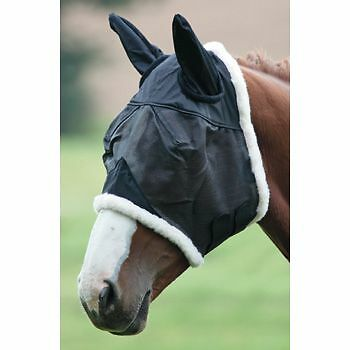 Shires Field Durable Fly Mask with Ears 6658