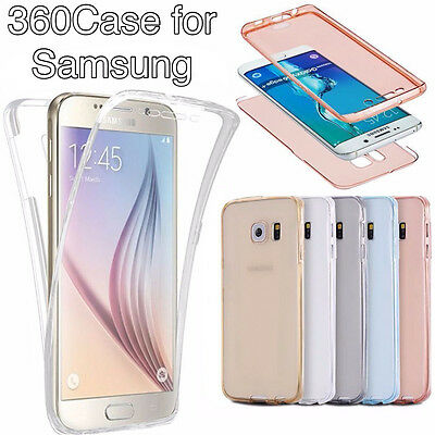 Ultra Slim Shockproof Bumper Case Cover fit for Samsung Galaxy S6 S7 S8 A3 J3