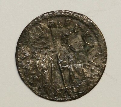 1501 to 1521 Venetian Silver Hammered Soldino Fine Condition