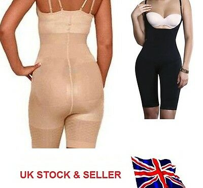 Full Body Shaper Bodysuit Shapewear ThighTrimmer Lift Firm Slim Control Shaper
