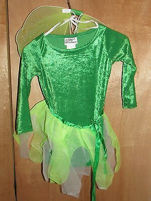 California Costumes Emerald Fairy (Childs Size Xtra Small) - Bnwt