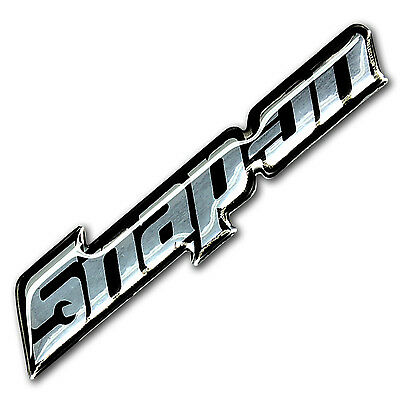 1Pc. Metallic Snap-On Racing Tools Clear Resin On Reflective Sticker Decal Vinyl