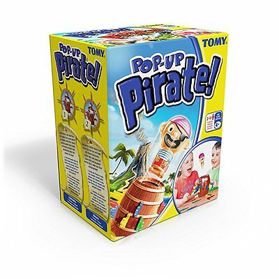 Tomy Pop Up Pirate Original Classic Game Of Childrens Kids Game Toy Age 4+ New