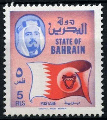 Bahrain 1976-1988 SG#224, 5f Definitive, National Flag MNH #D33765