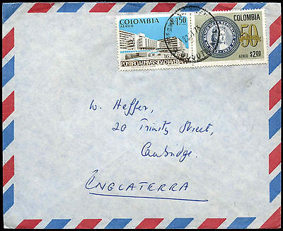 Columbia 1973 Airmail Cover To UK #C38268