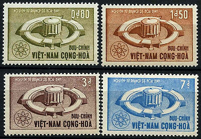 South Vietnam 1964 SG#S211-S214 Atomic Energy MNH Set #D35499