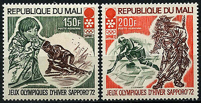 Mali 1972 SG#309-310 Winter Olympic Games MNH Set #D35395