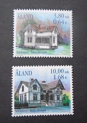 2000 Housing Set Fi Aland Islands Vf Mnh B64.27