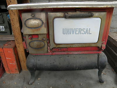 Antique Universal Wood  Cook Stove