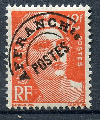 Stamp / Timbre France Preoblitere Type Gandon Neuf Sans Gomme N° 103A