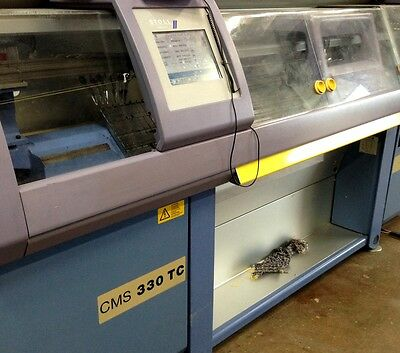 Stoll Knitting Machines - Cms 330 Tc (2002) Good Condition - Working