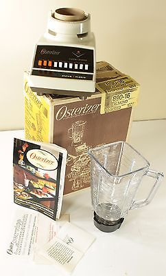 Vintage 1983 Osterizer Blender Cycle Blend Pulse Matic 890-16 In Box
