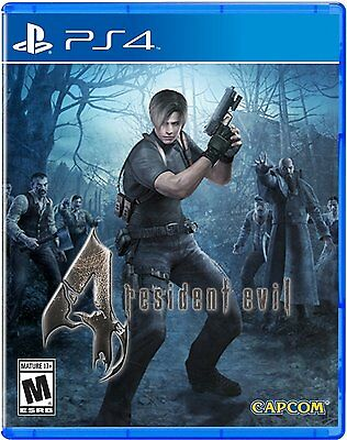 Resident Evil 4 [PlayStation 4 PS4, HD Remaster, Action Survival Horror] NEW