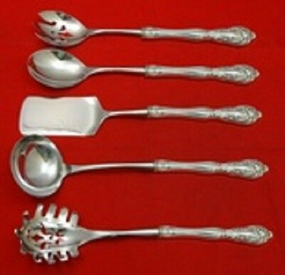 Chateau Rose by Alvin Sterling Silver Hostess Set 5pc Custom Made