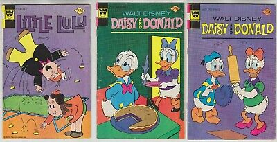 Walt Disney DAISY AND DONALD #13 Whitman 1975 Western Publishing Clarabelle Cow