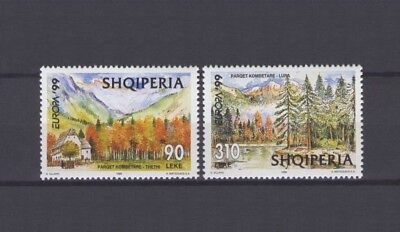 Albania, Europa Cept 1999, National Parks,mnh
