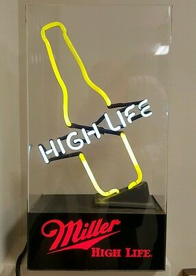 Old Miller High Life Neon Beer Bottle Sign Interior Decorate Ship International