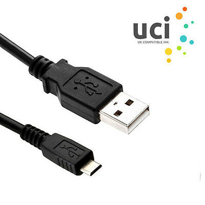 1x UCI® 1.8m USB Cable Printer Lead Type A Male to MICRO-B Hi-Speed 2.0