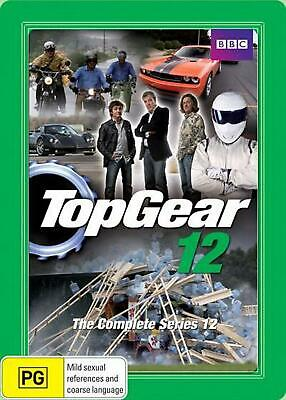 Top Gear: Complete S12 Steelbook - DVD Region 4 Free Shipping!