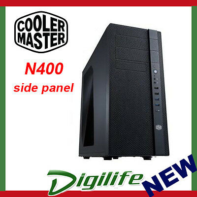 Cooler Master N400 Mid-Tower Gaming Case w/side panel coolermaster