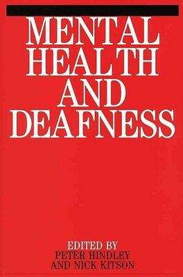 Mental Health and Deafness by Hindley Paperback Book (English)