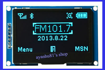 2.42 inch SPI Serial 12864 OLED LCD Display IIC I2C Module for Arduino UNO R3