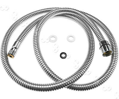 Replacement 150cm Pull Out Flexible Spray Hose For Kitchen Mixer Tap Shower Head