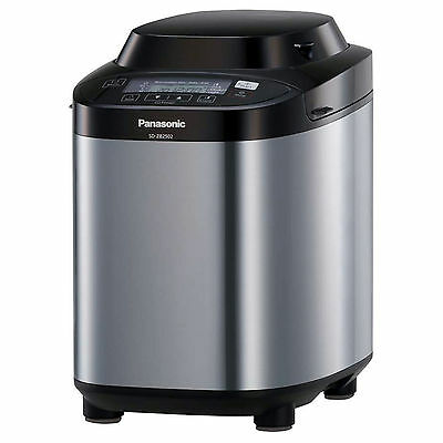 Panasonic SDZB2502B Automatic Bread Maker - Stainless Steel