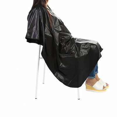 Salon Barber Hairdressing Gown Dye Styling Cutting Shampoo Hair Cape Cloth ZY