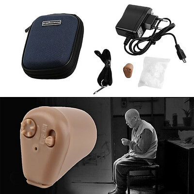 Sound Amplifier Ear Aid Adjustable Tone Rechargeable Hearing Aid ZY