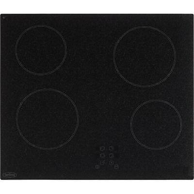 Belling CH60T 60cm Ceramic 4 Burners Hob with Touch Controls in Granite Effect