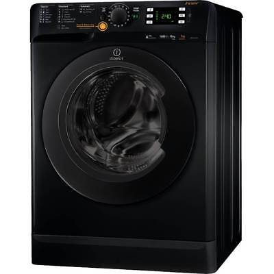 Indesit XWDE751480XK A Rated 1400 Spin 7+5Kg 16 Programmes Washer Dryer in Black