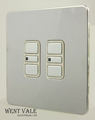 GET Ultimate Screwless - 238492 - 2g 2w Way Electronic Dimmer 60-300w New