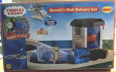 Thomas The Tank & Friends-Harold's Mail Delivery Set *new In Box*ltd Ed Harold