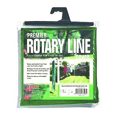Bosmere G326 Premier Rotary Line Cover Green
