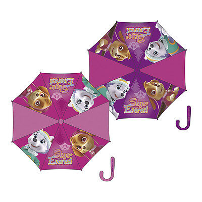 Childrens Pink Paw Patrol Umbrella Kids' 8 Panel Brolly Officially Licensed 85cm