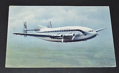Cpa 1959-1964 Aviation Avion Breguet Provence Deux-Ponts Air France Cne