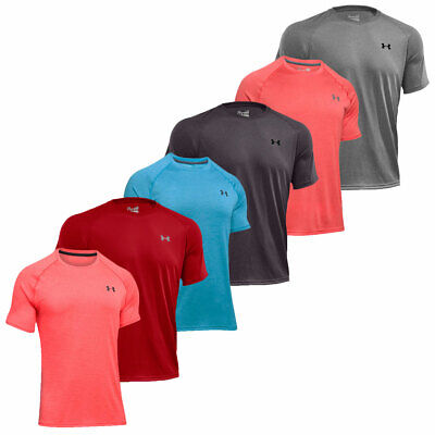 Under Armour 2017 Mens UA Tech SS T Shirt HeatGear Gym Short Sleeve Training