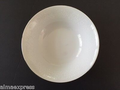 """Fine China of Japan RJZS Elegant Lace - 6-3/8"""" COUPE CEREAL BOWL"""