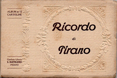 Ricordo Di Pirano – Libretto Di 12 Cartoline Fp – Postcards Album Piran Slovenia
