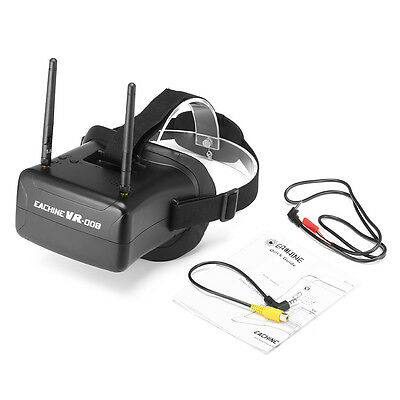 Eachine VR008 Duo Antenne 4.3 pollici 5.8G 40CH Raceband FPV Goggles