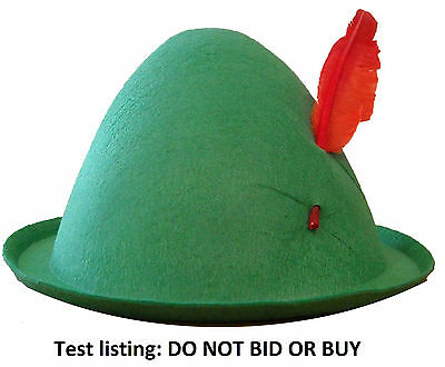 Test listing - do not bid or buy (IT1)