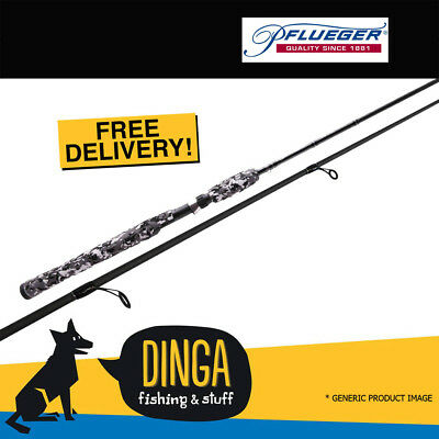Pflueger Illusion Spin 9' 2-5KG 2PC Light Action Fishing Rod