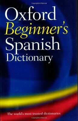 OXFORD SPANISH MINI Dictionary Paperback Book The Cheap Fast Free
