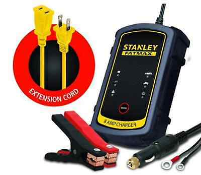 Stanley RE-CHARGEiT 8-amp Fatmax Battery Charger & Maintainer