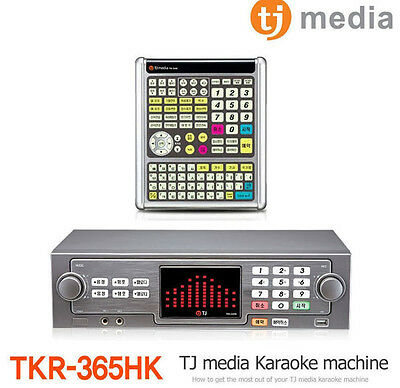 New TJ Media TKR-365HK Home Karaoke and Home Party + 500GB HDD + Keyboard Remote