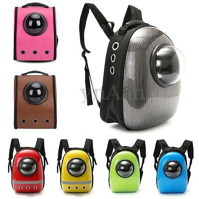 Breathable Astronaut Capsule Travel Tote Pet Dog Cat Puppy Backpack Carrier Bag