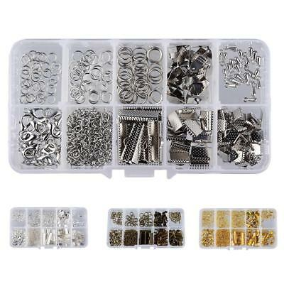 Box of Jewelry Making Starter Kit Set Jewelry Findings Supplies DIY Crafts