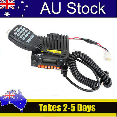 AU STOCK! QYT KT-8900R VHF/UHF 25W FM Monitor Car Mobile Transceiver 2 Way Radio